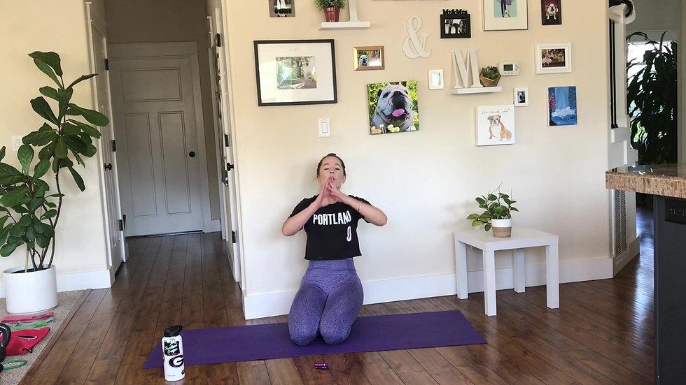 25 min Core + Cardio Workout
