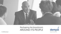 Reshaping the boardroom around its people