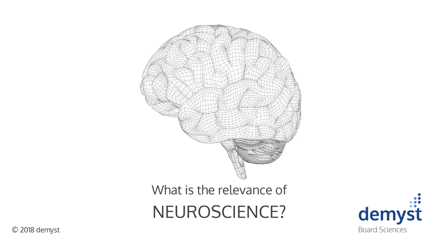 What is the relevance of neuroscience?