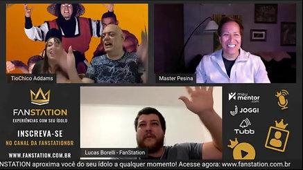 LIVE INTERNACIONAL FANSTATION! De Olho em Você - Tio Chico Addams e Daniel Pesina do Mortal Kombat