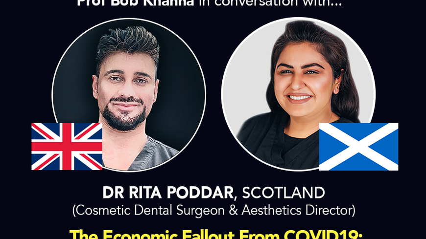 Prof Bob Khanna & Friends LIVE - Episode 2 - Dr Rita Poddar