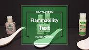 Bactakleen 搓手液易燃測試