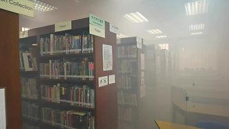 圖書館 | Ultra Mist 殺菌抗菌處理