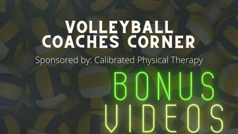 Volleyball Coaches Corner Bonus Features