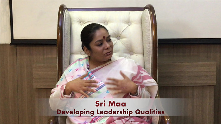Talk by Sri Maa