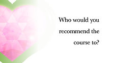 Who would you recommend the course to?