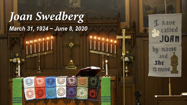 Funeral Service for Joan Swedberg