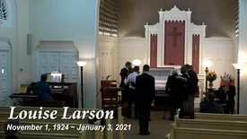 Funeral Service for Louise Larson