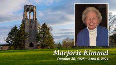 Funeral Service for Marjorie Kimmel