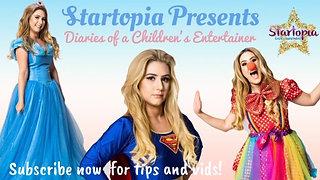 Diaries Of A Children's Entertainer Presents Startopia Parties