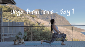 Yoga from Home - Day 1