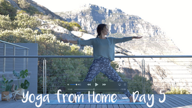Yoga from Home - Day 5