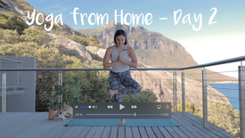 Yoga from Home - Day 2