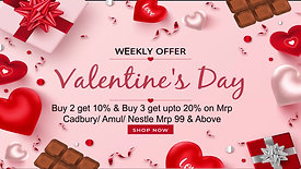 Happy Valentine's Day Offers