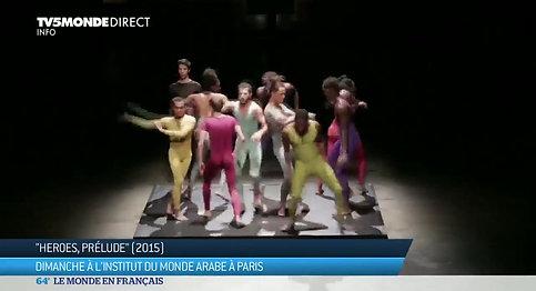 Radhouane El Meddeb  entrez dans sa danse