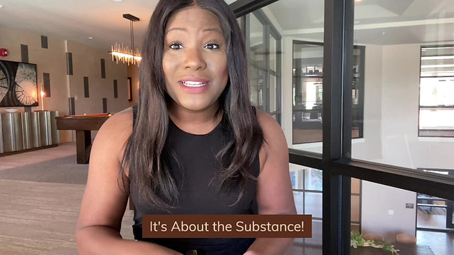It's About The Substance