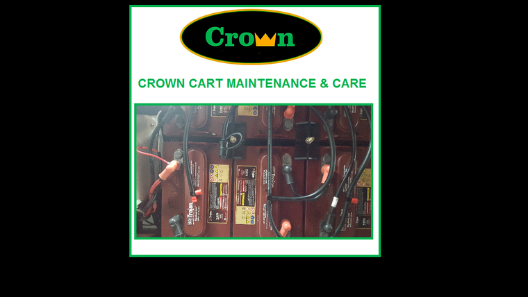 Crown Cart Maintenance & Care Media Support