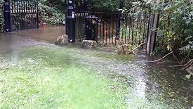 Flooding in West Drayton 02/10/2020