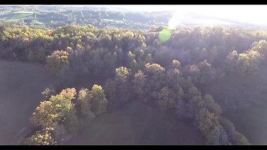Grand tour par drone