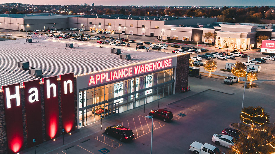 Next Level Hahn appliance Christmas Lights Setup