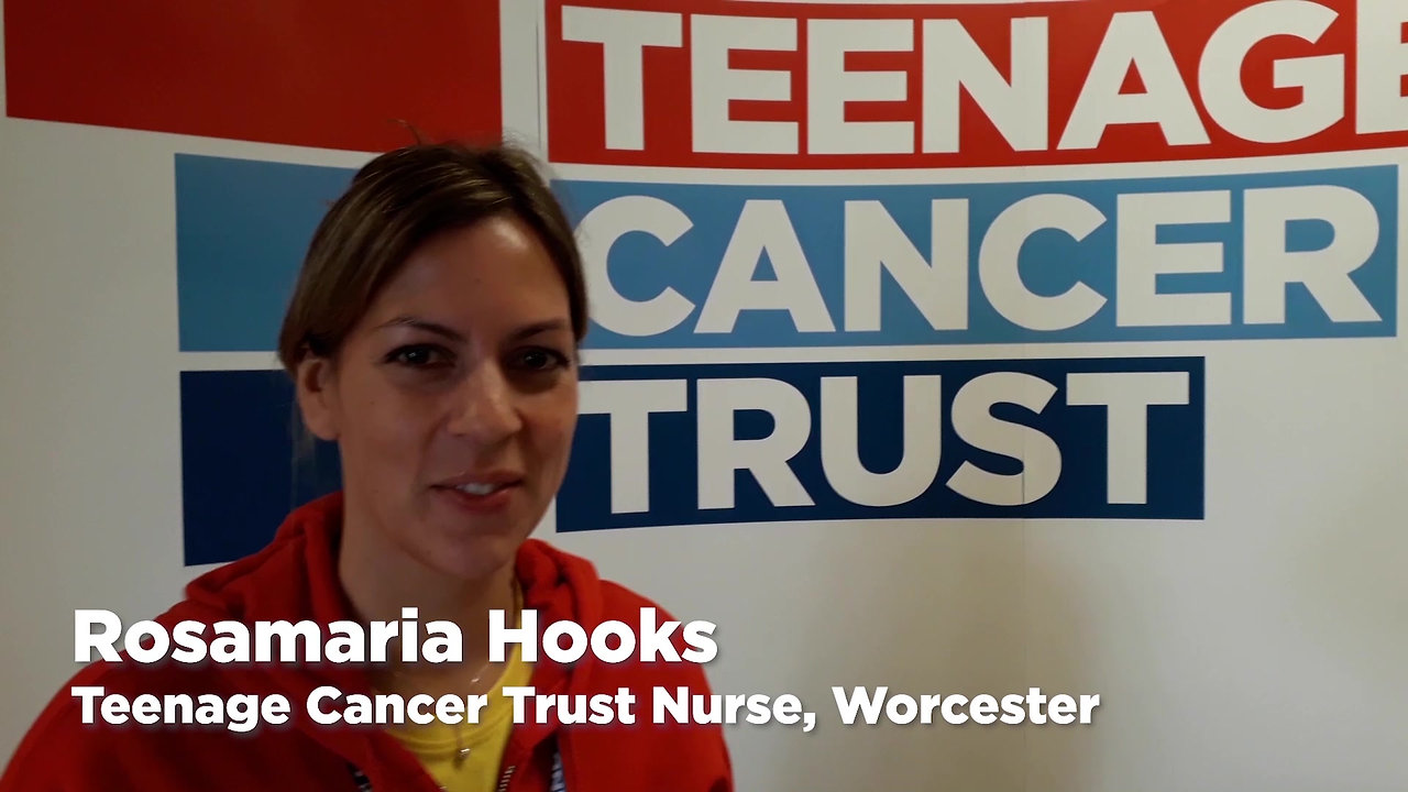 We're proud of our partnership with Teenage Cancer Trust