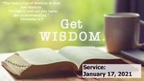 Get Wisdom: Cost of Wisdom, 2021-01-17