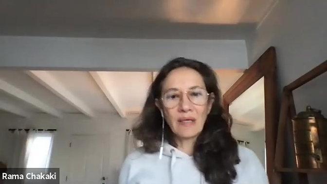 Christelle Barakat Interview with Rama Chakaki