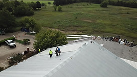 Rockwall helping hands, .24 gauge r panel metal roofing, 35 year kynar finish warranty 0168