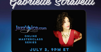 Gabrielle Stravelli Masterclass with Susan Berkley, Jessica Jane Rucker and Decyo McDuffy, July 2, 2021