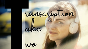 Transcription Take Two with Ashley Pezzotti