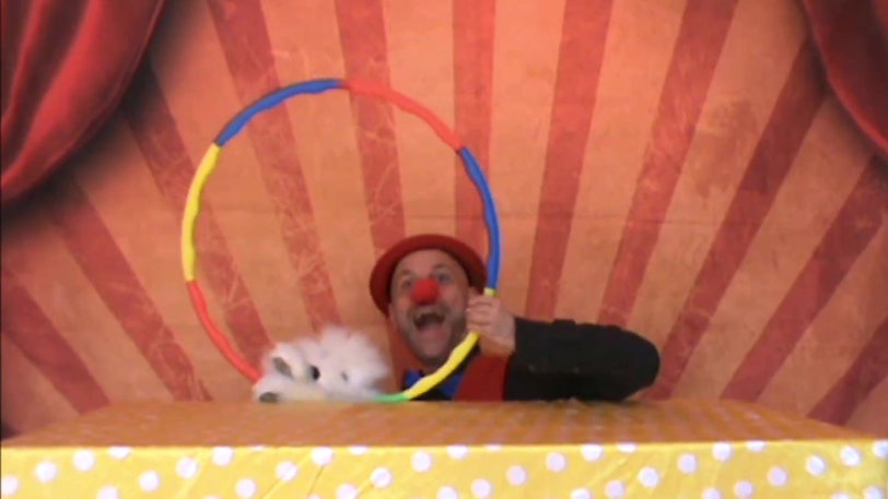 Webcam Circus: Live Online Children and Families Show on Zoom.