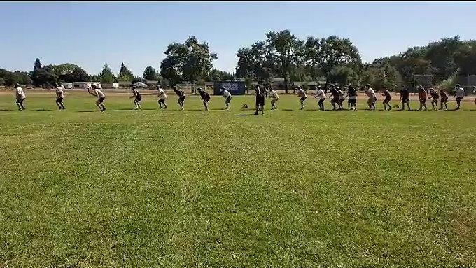 Sonoma Varsity Football Team