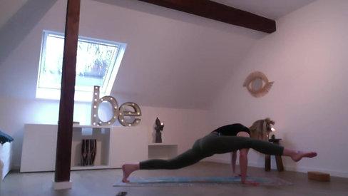 Bleib geschmeidig, Baby! Vinyasa Yoga Flow
