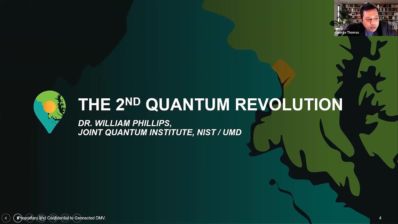 Nobel Laureate Dr. Phillips on the Second Quantum Revolution