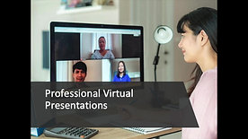 Professional Virtual Presentations