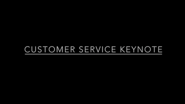 Customer Service - Keynote
