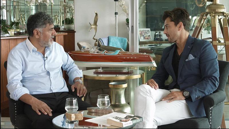 Minority Report Trailer, Episode 1, Syed Interviews James Caan, CBE & Former Dragon on BBC's Dragons Den