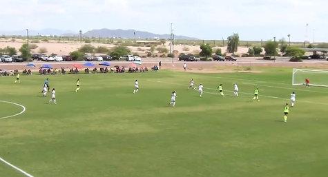 "U-18/19 Goal vs Royals ""DA National Play of the Week"""