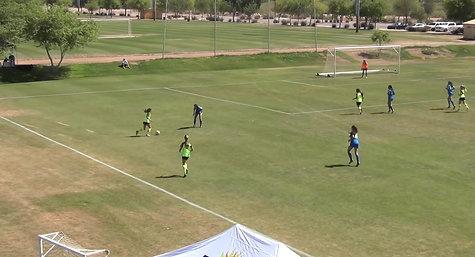 U-14 Goal vs So Cal Blues