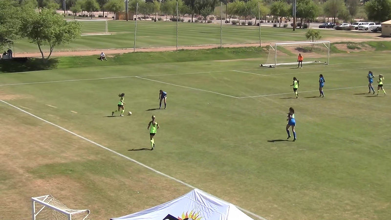 U-14 Goal vs So Cal Blues