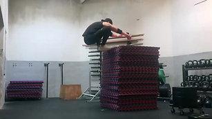 Boxjump: 142 cm