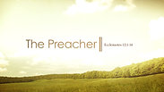 The Preacher - Wednesday, July 29, 2020