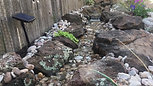 60 foot Stream and Pond