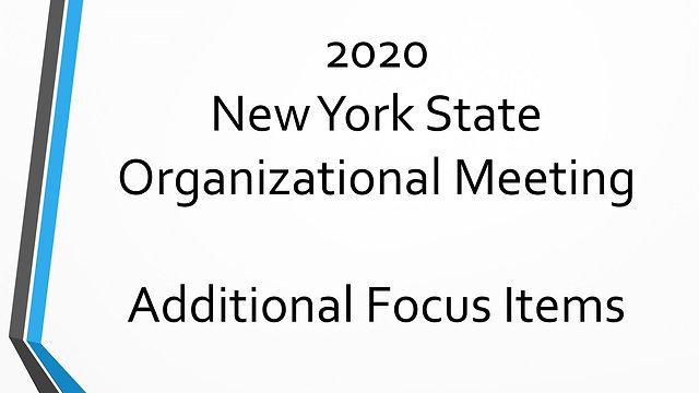 Additional Focus