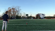 Liva Helt - Field goal practise