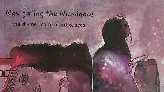 My newest art magazine - Navigating the Numinous