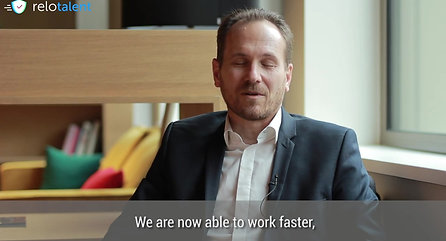 ReloTalent Client Testimonial - Stephane Compain and Sandrine Lapointe of LuxRelo, Luxembourg