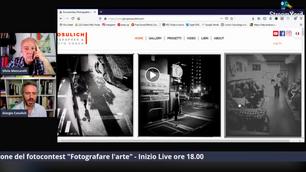 """Documentary Photographer: diretta con Giorgio Cosulich de Pecine e Silvio Mencarelli -  Premiazione del fotocontest """"Fotografare l'arte"""". Inizio ore 18.00"""