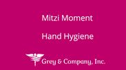 Hand Hygiene- Mitzi Moment 1