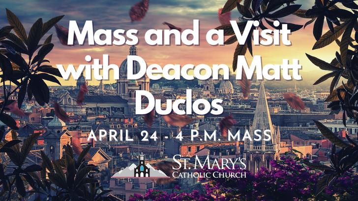 April 24/25 Mass